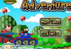 Игры Приключение Марио на танке 2