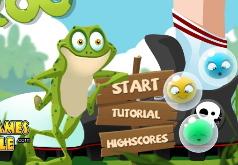 Игры Лягушка и водяные бульки
