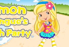 Игра Шарлотта Земляничка Вечеринка Лимоны