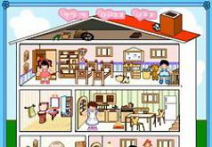 Игра Кукольный домик Эмили