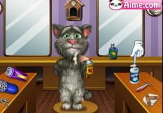 Игры Говорящий Том в Парикмахерской