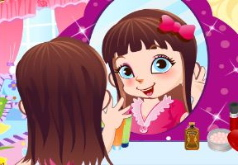 Игры Cute Mirror Girl Make Up Games