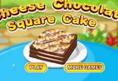 Игра Сырный Шоколадный квадратный пирог
