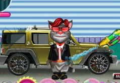 Игра Том моет машину