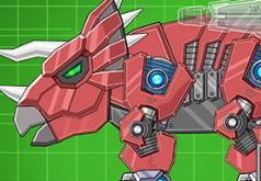 Игра Игрушка трицератопс военный робот