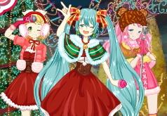 Игры Рождественские аниме образы