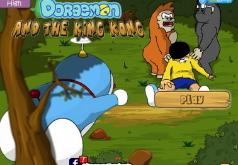 Игры Кот робот Дораэмон против Кинг Конга