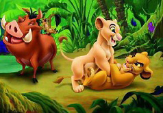 Игры Пазл Король Лев