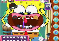 Игры Губка Боб и здоровая улыбка