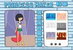 Игры Создай принцессу время приключений одевалки