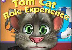 Игры приключения|Одевалка кота Тома