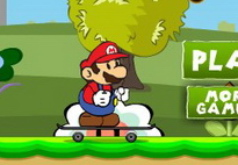 Игра Марио умный скейтер