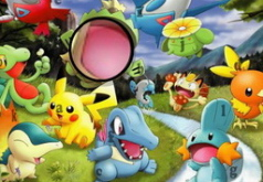 Игры Найти буквы Покемон