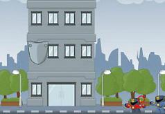 Игры Роботы рушат офисное здание