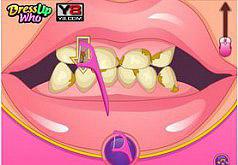 игры барби чистить зубы
