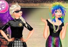 игра одевалка и макияж подружек