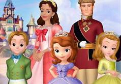 Игры Принцесса София с семьей