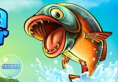 игра приключения голодной рыбы