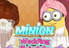 Игры Свадебная прическа миньона