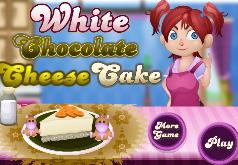 Игры Белый шоколадный чизкейк