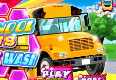 Игра Школьный автобус Автомойка