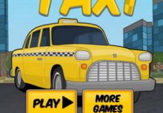 Игры такси развозит людей