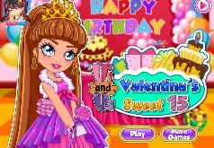 Игры Ви и Ва 15 летие Валентины