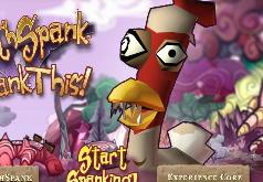 игры полет дикой курицы