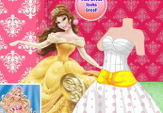 Игра Принцесса Белль Платье мечты