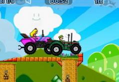 игры на двоих марио гонки на тракторах