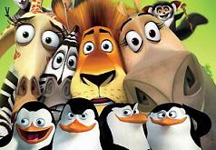 Игра Пазл: Мадагаскар