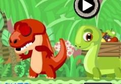 Игры Забота о динозавре