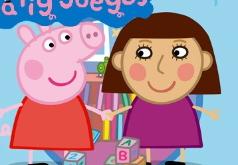 игры для девочек пазлы свинка пеппа