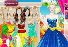 Игры Красавица принцесса Барби