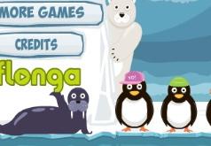 игры полет пингвина