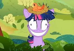 Игры Мой Маленький Пони Твайлайт и Птица