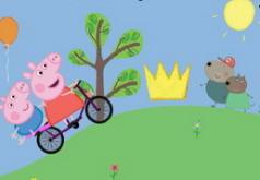свинка пеппа на велосипеде игра
