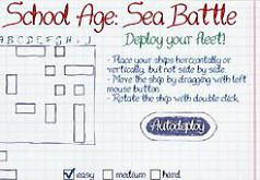 игры морской бой школьный