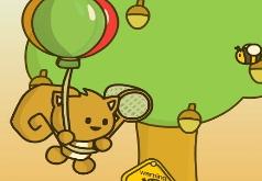 Игры Поездка Чипа на воздушном шаре