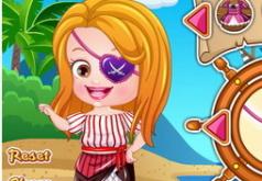 Игра Малышка Хэйзел Пиратский наряд