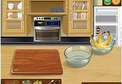 Игры Банановые кексы Кухня Сары