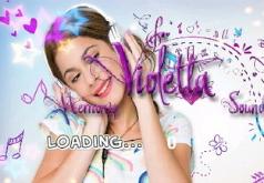 Игры Виолетта угадывает мелодию