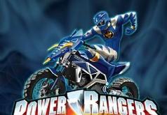 игры пауэр рейнджер на мотоцикле