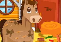 Игра Уборка на конюшне 2