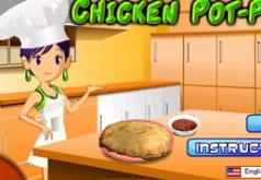 игры готовим еду кухня сары пряничный домик