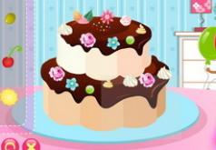 игры украшаем торт фруктами