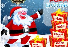 Игры Дед Мороз Попрыгунчик