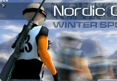 игры зимний спорт лыжи