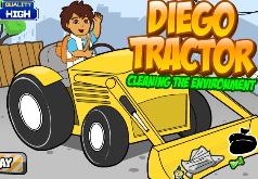 Игры Диего на тракторе чистка часть 2