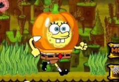 Игра Губка Боб Квадратные Штаны Бег на Хэллоуин